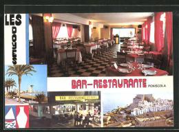 "Postal Peniscola, Bar-Ristorante ""Les Doyes"" - Spanien"