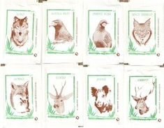 Sobres De Azucar Vacios. Coleccion Fauna Iberica. (ref. 25c-649) - Azúcar