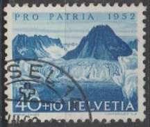 Suisse 1952 N° 525 Lac De Marjelen (D4) - Switzerland