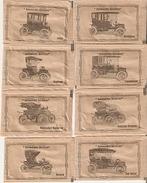 Sobres De Azucar Vacios. Coleccion Automoviles Eléctricos Antiguos. (ref. 25c-728) - Azúcar