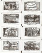 Sobres De Azucar Vacios. Coleccion Edificios De Villanueva Del Trabuco. (ref. 25c-729) - Azúcar