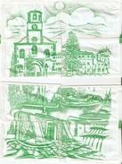 Sobres De Azucar Vacios. Coleccion Imagens De Villanueva Del Trabuco. (ref. 25c-747) - Azúcar