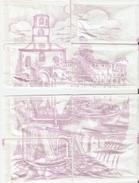 Sobres De Azucar Vacios. Coleccion Imagenes De Villanueva Del Trabuco. (ref. 25c-750) - Azúcar