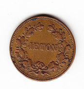 FRANCE, JETON, NAPOLEON III . (3P19) - Royal / Of Nobility