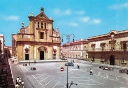SIRACUSA - Augusta - Piazza Duomo - 1963 - Siracusa