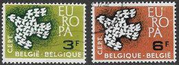 Belgium SG1793-1794 1961 Europa Set 2v Complete Good/fine Used [33/28664/6D] - Belgium