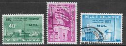 Belgium SG1795-1797 1961 Euratom Commemoration Set 3v Complete Good/fine Used [33/28665/6D] - Belgium