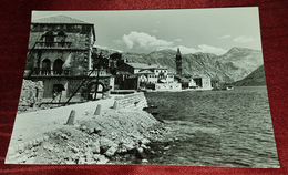 PERAST, MONTENEGRO, CRNA GORA- ORIGINAL OLD POSTCARD - Montenegro
