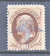 U.S. 187  No  Secret Mark,  GLEN  ELLEN  APEX 3 PRECANCEL     (o)   1879 Issue - 1847-99 General Issues