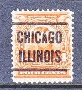 U.S. 303     (o)   PRECANCEL  . CHICAGO - United States