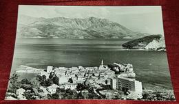 BUDVA, BUDUA MONTENEGRO, CRNA GORA- ORIGINAL OLD POSTCARD - Montenegro