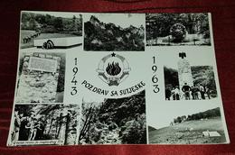 SUTJESKA, NATIONAL PARK, TJENTIŠTE, ZELENGORA- ORIGINAL OLD POSTCARD - Yugoslavia