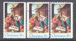 U.S. 1414, 1414 A,  1414 D    **    W / PRECANCEL  . CHRISTMAS - United States