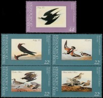 ~~~ Micronesia 1985 - Fauna Birds Oiseaux Vogels- Mi. 40/44 ** MNH ~~~ - Mikronesien