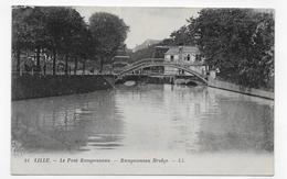 LILLE - N° 51 - LE PONT RAMPONNEAU - CPA NON VOYAGEE - Lille