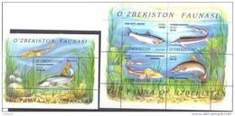 2006. Fishes Of Uzbekistan, 2 S/s, Mint/** - Uzbekistán