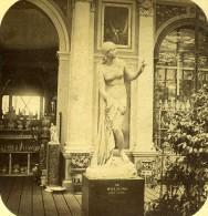 Londres Sydenham Crystal Palace Musidora Legrew Anciennne Photo Stereo 1860 - Stereoscopic