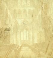Salisbury Cathedrale Choeur Lady Chapel Anciennne Photo Stereo London Stereoscop Company 1870