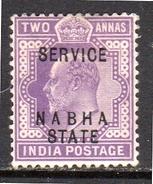 Service SG O28 Very Fine (i48) - Nabha