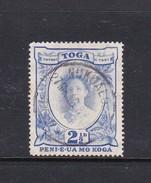 Tonga SG 77 1942 Queen Salote Two And Half Pence Ultramarine  Used - Tonga (1970-...)