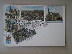 D147548 CPA 54 NANCY Souvenir -Litho 5  Vues Carte Colorisée Ca 1898 - Nancy