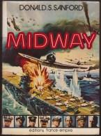 DONALD S SANFORD / MIDWAY / FRANCE EMPIRE 1976 Guerre Navale Pacifique états-unis Japon E18 - Histoire