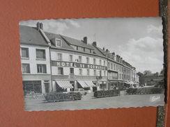 Cpsm 9x14 DD V Gournay En Bray Hotel De Normandie Commerce Voiture Velo Bon Etat - Gournay-en-Bray