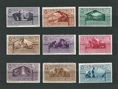 SOMALIA 1930 - Bimillenario Della Nascita Di Virgilio - MH - Sa:IT SO 149-157 - Somalia