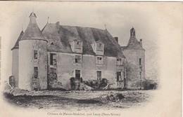 CPA  79 - Château De PLESSIS-SENECHAL, Prés LEZAY - France