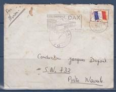 = Enveloppe Timbre Franchise Militaire N°13 Dax 18.1.1967 Flamme Dax Et Cachet Départ Esalat Dax - Marcophilie (Lettres)
