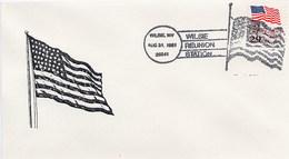 USA -   WILSIE  WV  FLAG - Buste
