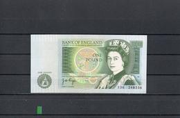 REINO UNIDO 1978, 1 POUND, PK-377a, SC-UNC, 2 ESCANER - 1952-… : Elizabeth II