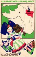 PROVINCES FRANCAISES ALSACE LORRAINE EDITION PRODUITS ECLIPSE;ET SON HISTOIRE   REF 51353 - Alsace