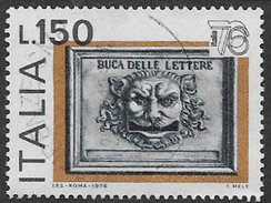 Italy SG1489 Italia 1976 (2nd) 150l Good/fine Used [8/9682/7D] - 6. 1946-.. Republic