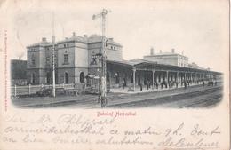 BAHNHOF Herbesthal  - 1901 - Lontzen