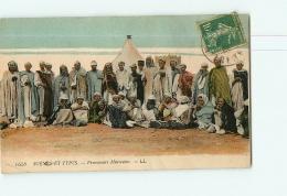GUERRE DU RIF 1925, Maroc : Prisonniers Marocains. 2  Scans. Scènes Et Types, Edition LL. - Guerres - Autres