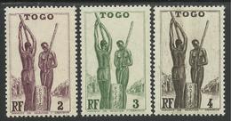 TOGO 1941 YT 182/184** SANS CHARNIERE NI TRACE - MNH - Togo (1914-1960)