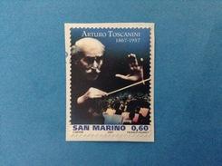 2007 SAN MARINO FRANCOBOLLO USATO STAMP USED - ARTISTI TOSCANINI 0,60 - - Used Stamps