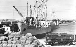 13 - Port Saint Louis Du Rhone - Les Quais - Chargement Des Navires - Bagheera; Wiebolo Bohmer
