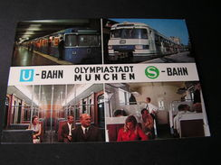 München Olympia Stadt Ca, 1970  S-Bahn - Muenchen