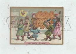 Russie : Défilé Des Russes   Chromo De Lefèvre-Utile LU Nantes En 1885 (animé) - Altri