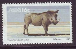 D120612 South West Africa 1987 WARTHOG MNH - SWA Namibia Namibie