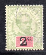 XP1941a - SARAWAK 1889 , Gibbons N. 24  Usato  No Wmk - Sarawak (...-1963)