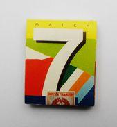 Pochette D'allumettes Match 7 - Non Ouverte