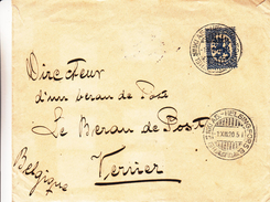 Finlande - Lettre De 1920 - Oblit Helsinki AS - Exp Vers Verviers En Belgique