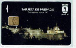 Card  Madrid Palacio Real - Tarjeta Aparcamiento - Telefonkarten