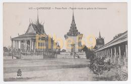 Pnom-Penh (Cambodge) Pagode Royale Et Galerie De L'enceinte - Cambogia