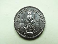 One Shilling 1944 Argent Georgius VI - 1902-1971 : Monete Post-Vittoriane
