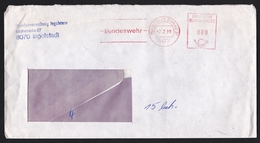 Germany: Cover, 1988, Meter Cancel, Bundeswehr, German Army, Military Location Ingolstadt (damaged, See Scan) - [7] West-Duitsland