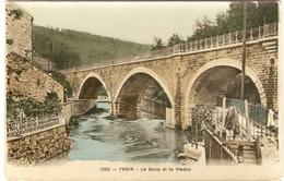 YVOIR  ---   Le Bocq Et Le Viaduc - Yvoir